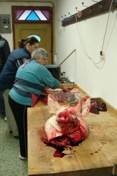 Masopust a zabijačkové hody v Žeroticích